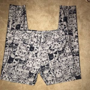 Girls Justice Active Kitty & Puppy Leggings